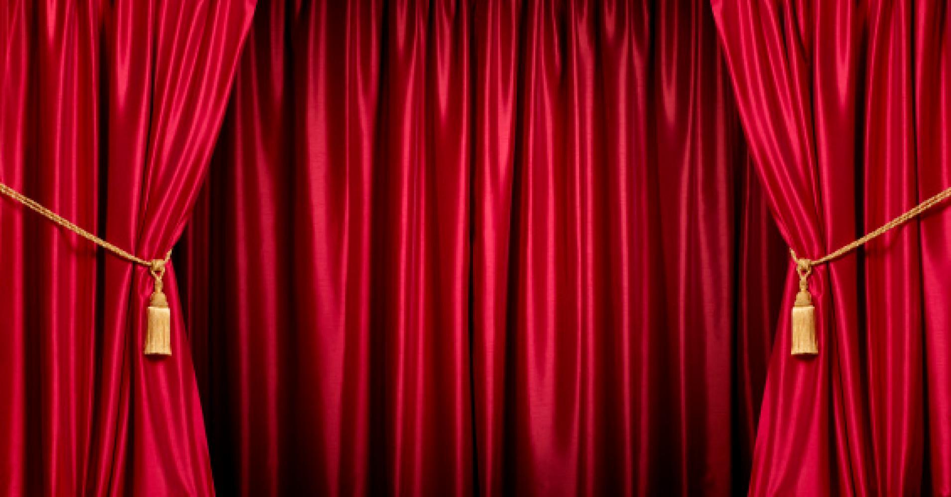 Curtain call clipart  Clipground