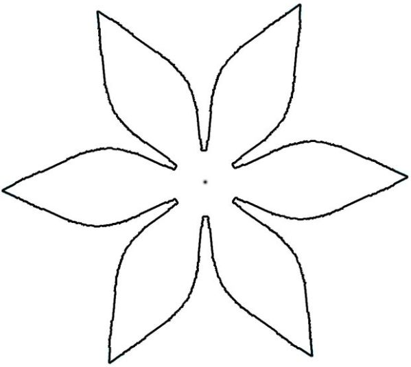 pointed flower clipart 20 free