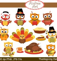 cute animal thanksgiving clipart  [ 1500 x 1436 Pixel ]
