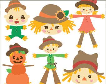 cute boy scarecrow clipart - clipground