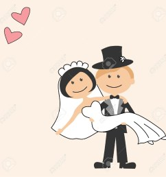 funny bride and groom clipart  [ 1300 x 1300 Pixel ]