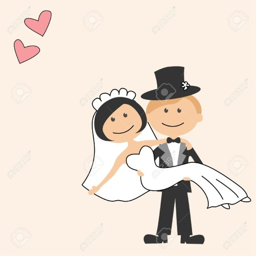 small resolution of funny bride and groom clipart