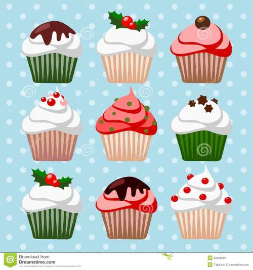 small resolution of free christmas cupcake clipart showing post media for christmas cupcakes cartoon