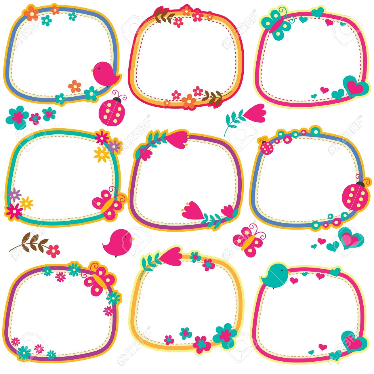 Black And And Borders Clip Art Frames Hat White