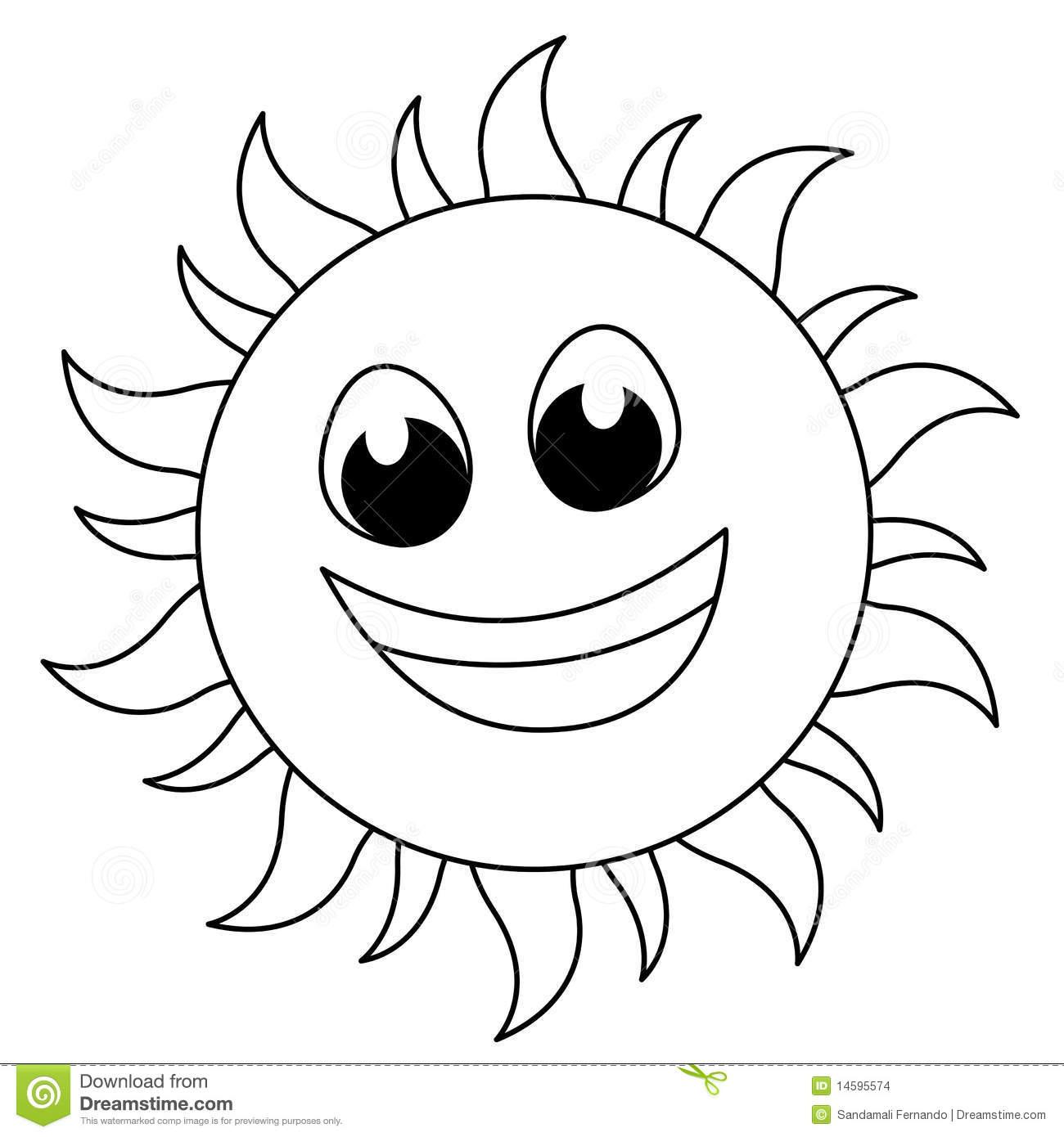 Cute Free Black And White Sun Clipart 20 Free Cliparts
