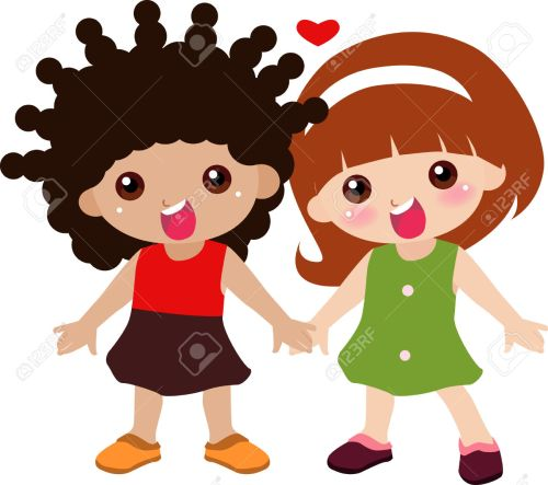 small resolution of cute friend clipart