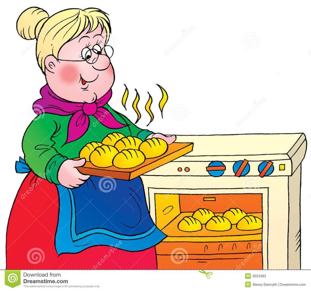 medium resolution of grandma cooking clipart