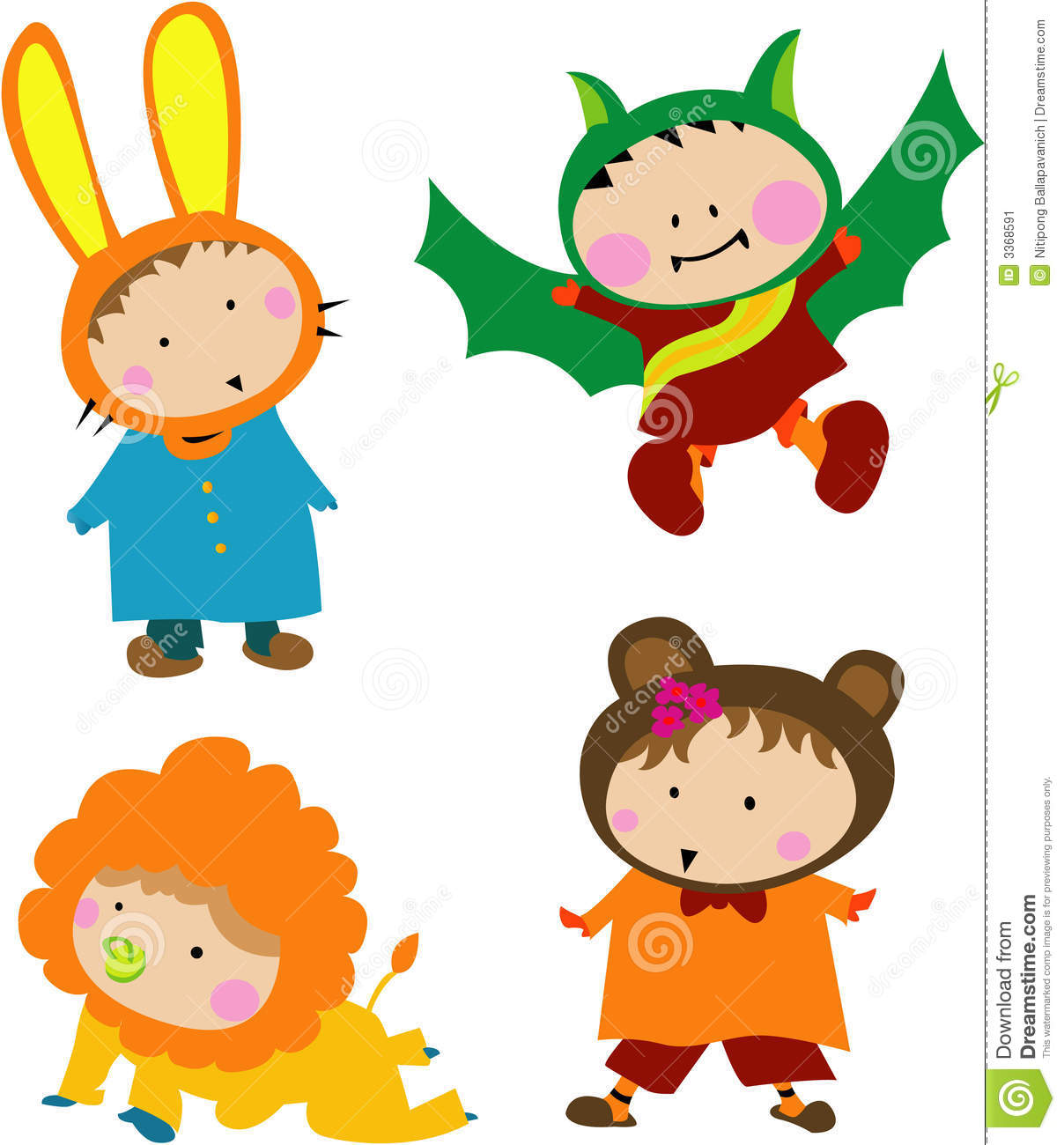 hight resolution of cute kids clipart free