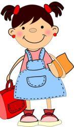 clipart little student transparent children clip cartoon drawing schools clipartlook bita bigode mundo starting silhouette dibujos drop ninos pick clipground