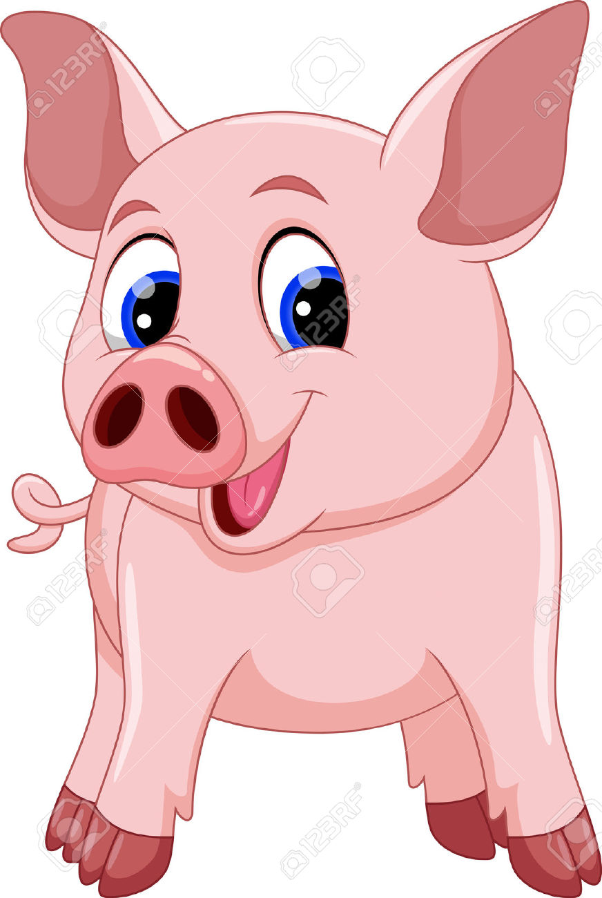 Cute Notepad Wallpaper Cute Pig Clipart Free Clipground