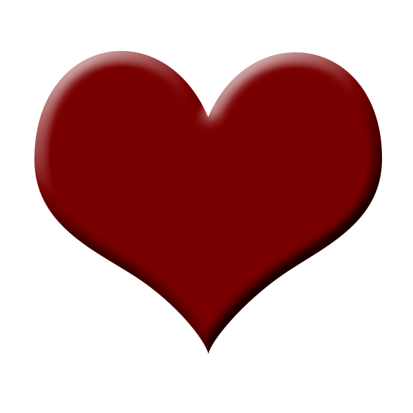 Cute Red Heart Clipart - Clipground