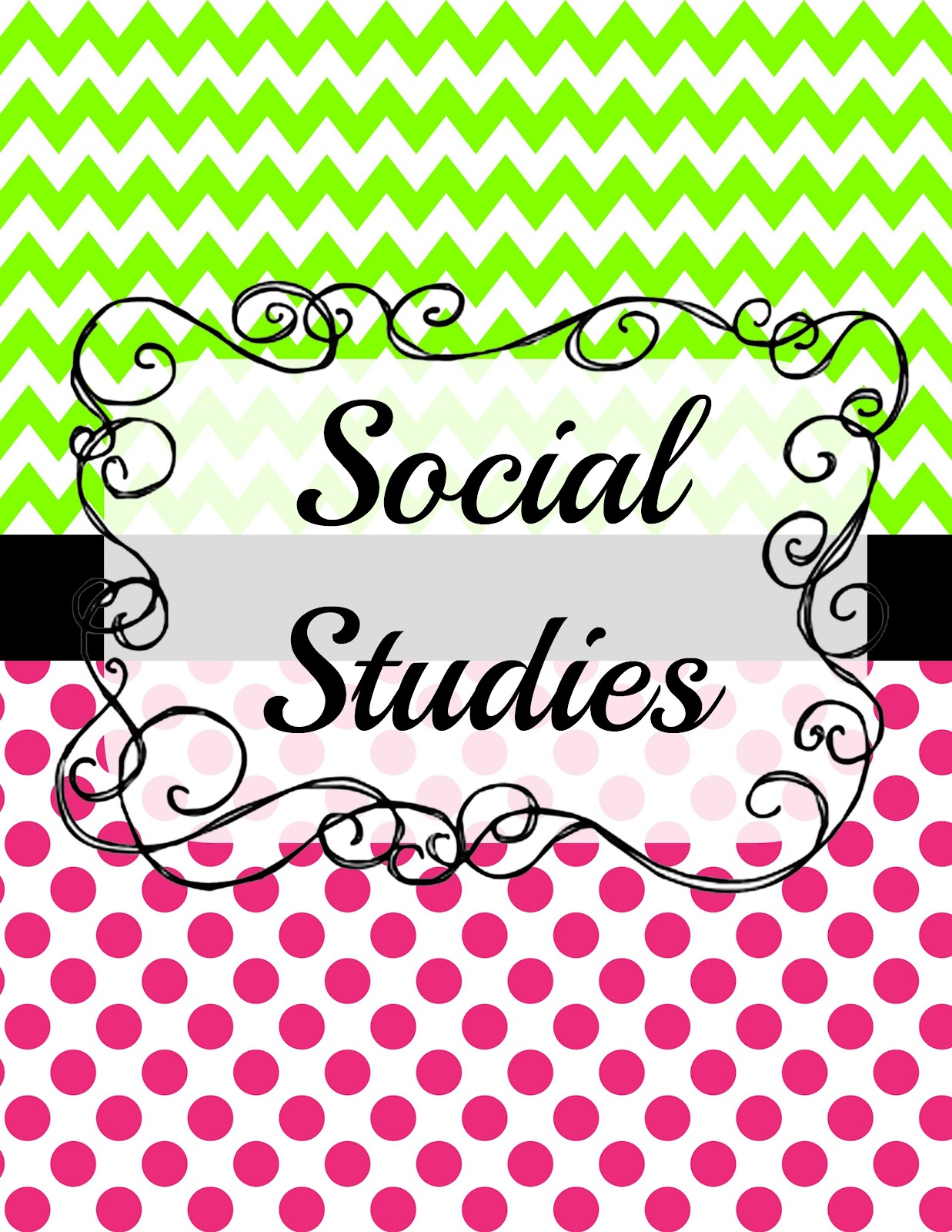 Awesome Cute Binder Wallpapers That Are Printable Cute Social Studies Clipart Clipground