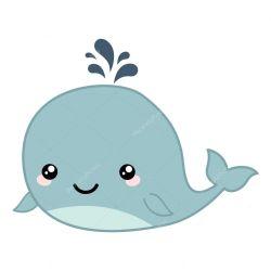 whale clipart cute cartoon illustration clipground
