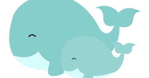 clipart whale cute clipground baby