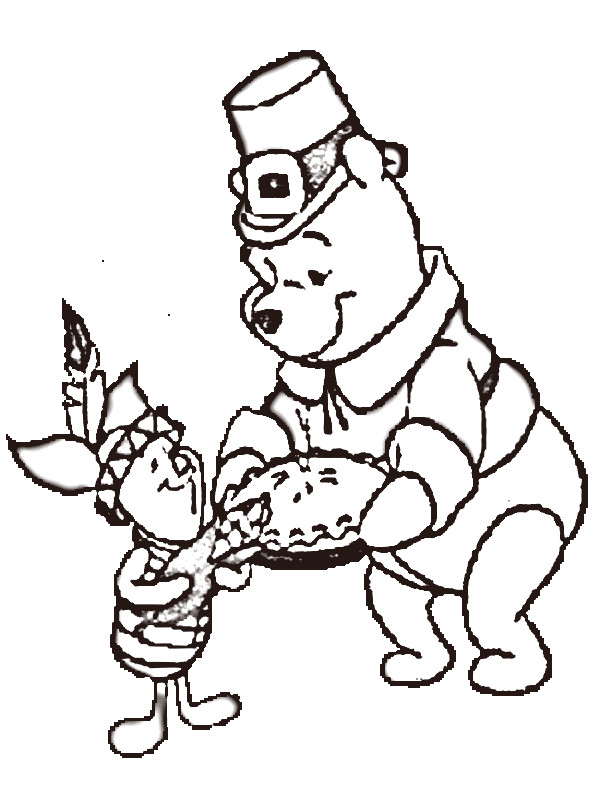 Free Coloring Pages Of Cute Baby Winnie The Pooh
