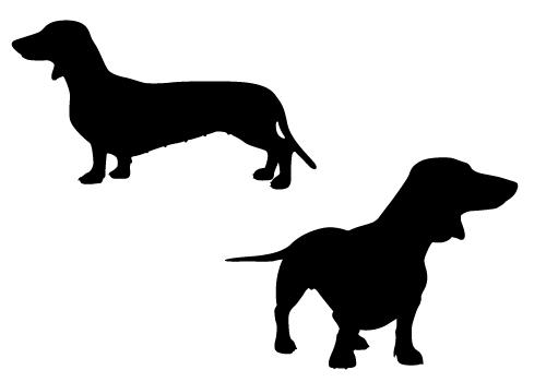 dachshund clipart silhouette 20