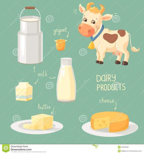 small resolution of dairy products clip art stock photos images pictures