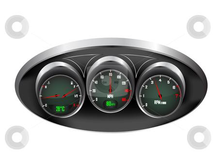 Car Fuel Gauge Wiring Diagram Dashboard Clipart Clipground