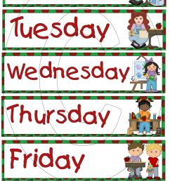 free letter clipart week days clipground  [ 2400 x 3600 Pixel ]