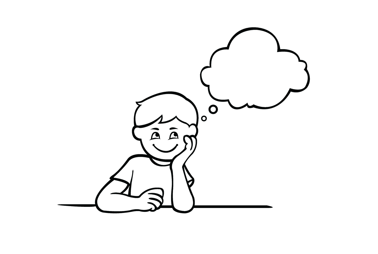Daydreaming Clipart