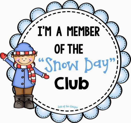 small resolution of snow days clip art