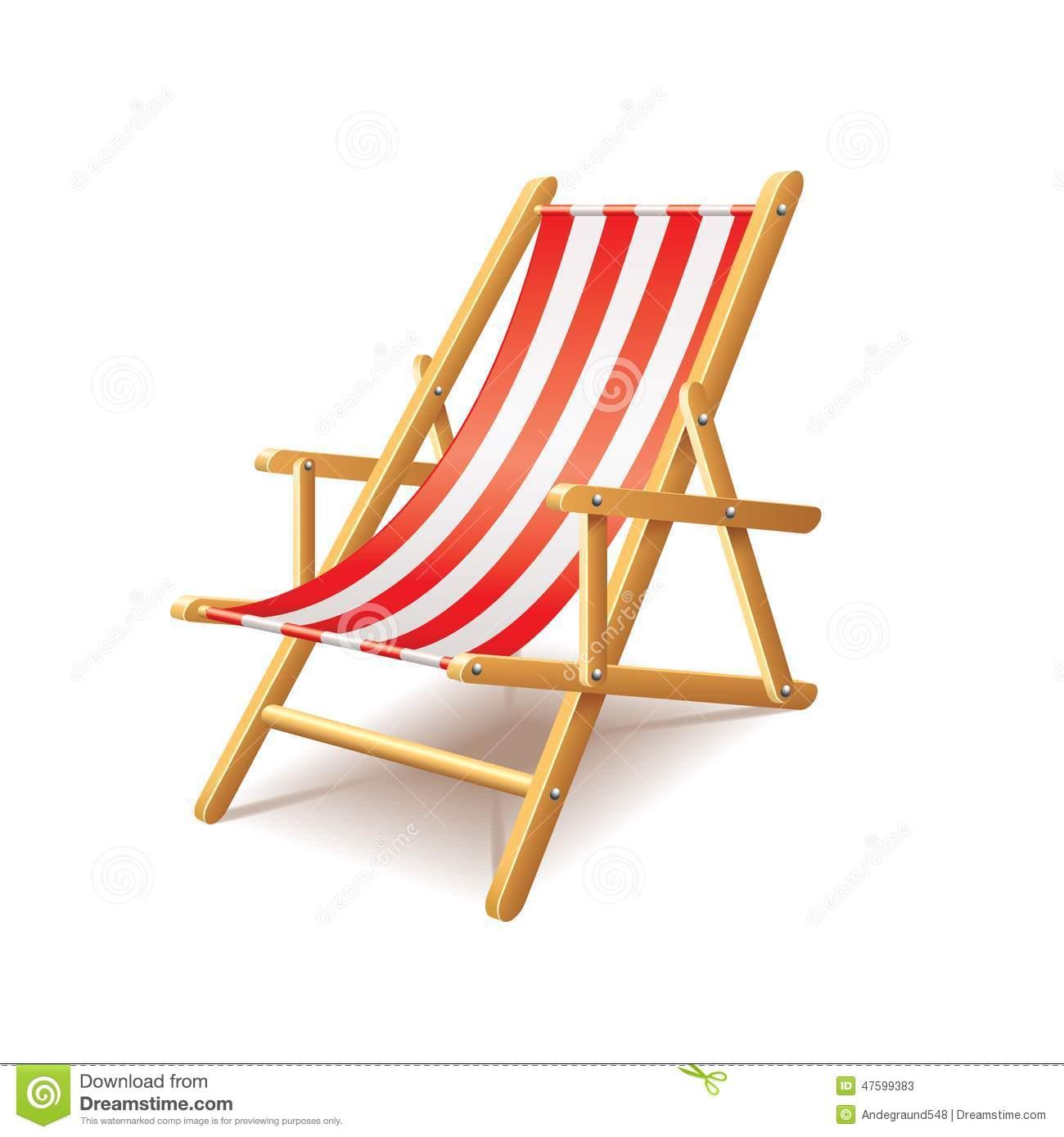 Deck chair clipart  Clipground