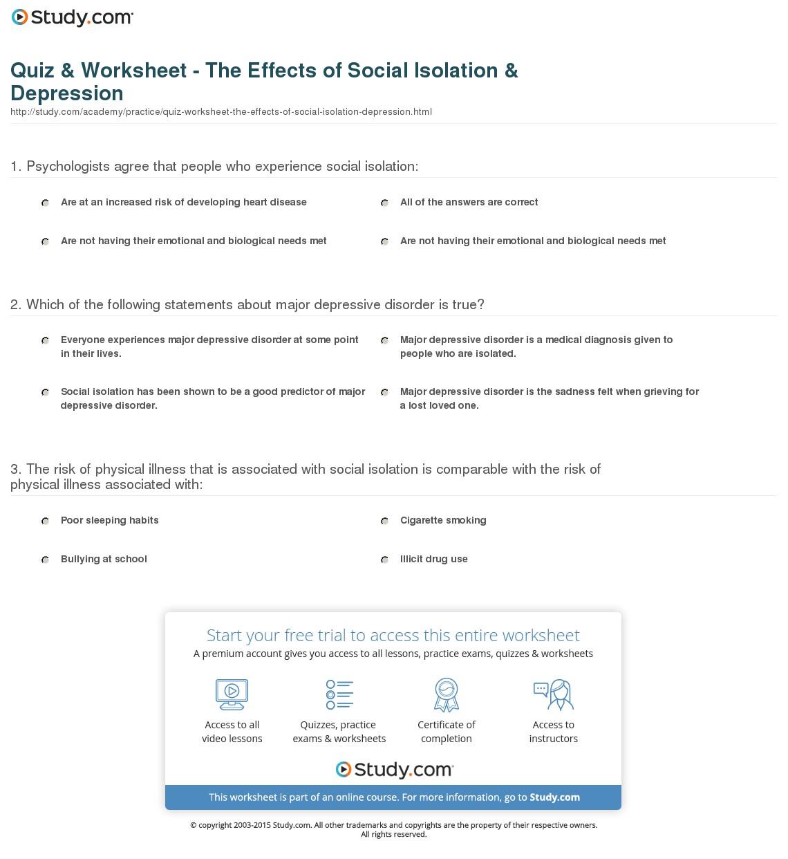 Depression Quiz