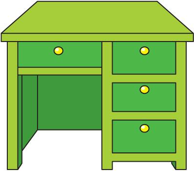desk clipart - clipground