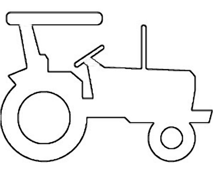 detailed tractor clipart outline 20 free Cliparts