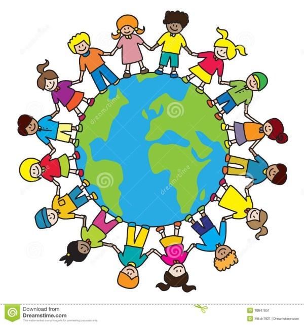 Diversity World Clipart - Clipground