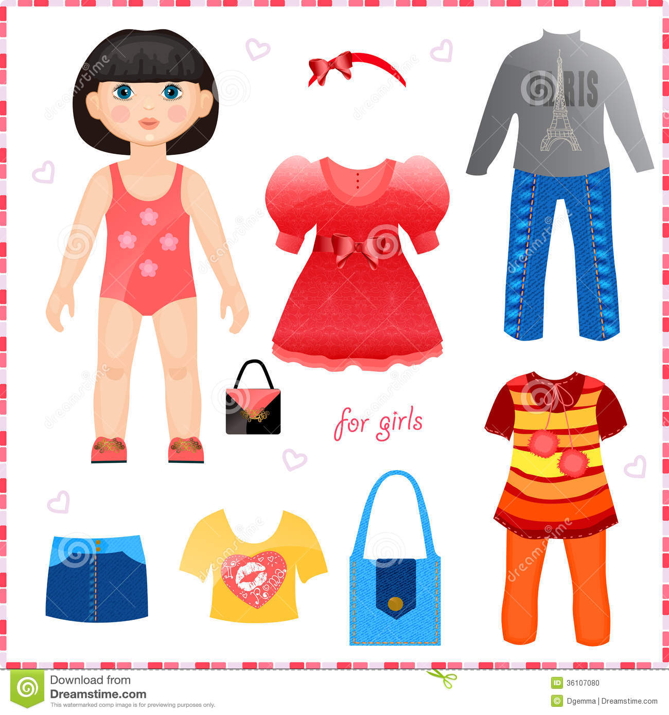 Doll Clothing Clipart