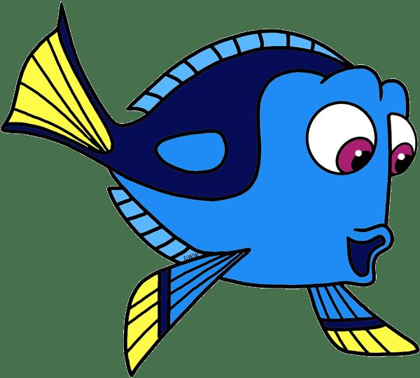 Dory Finding Nemo Outline