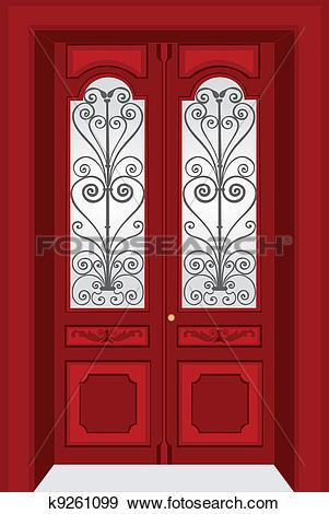 Antique Door Clipart Clipground