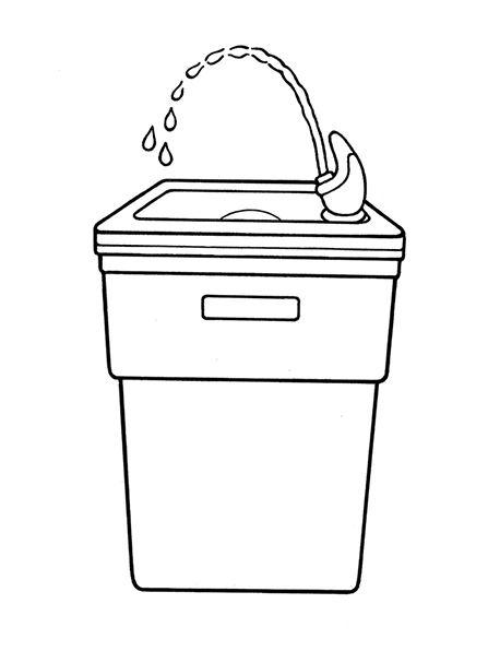 toilet clipart and water fountain 20 free Cliparts