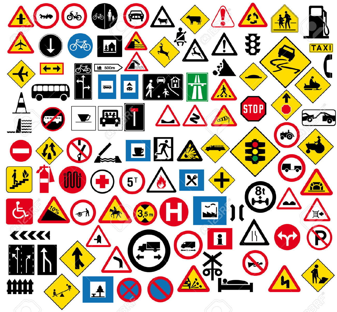 Rules Of The Road Clipart
