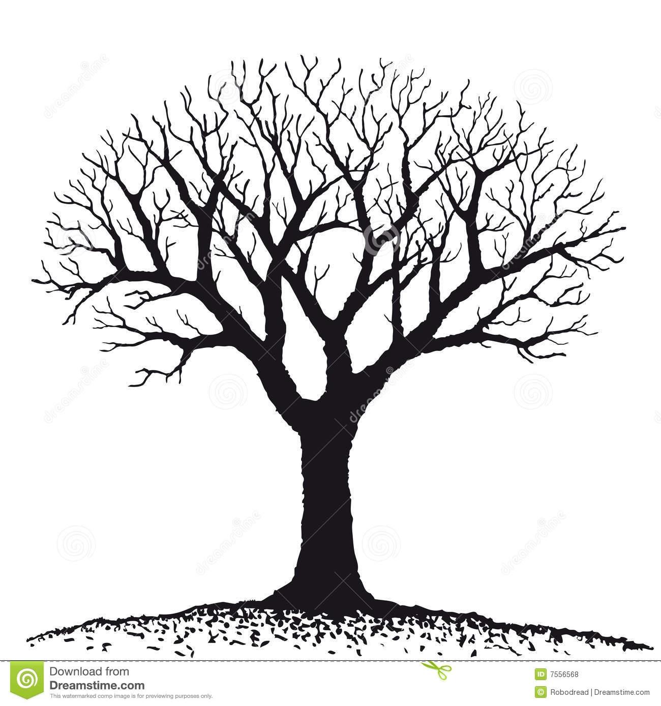 Dry Tree Clipart