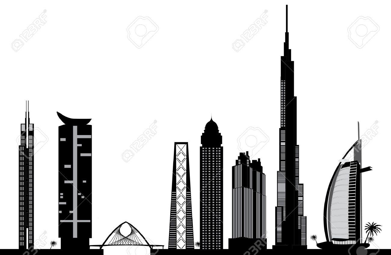 Dubai Skyline Clipart Free 20 Free Cliparts