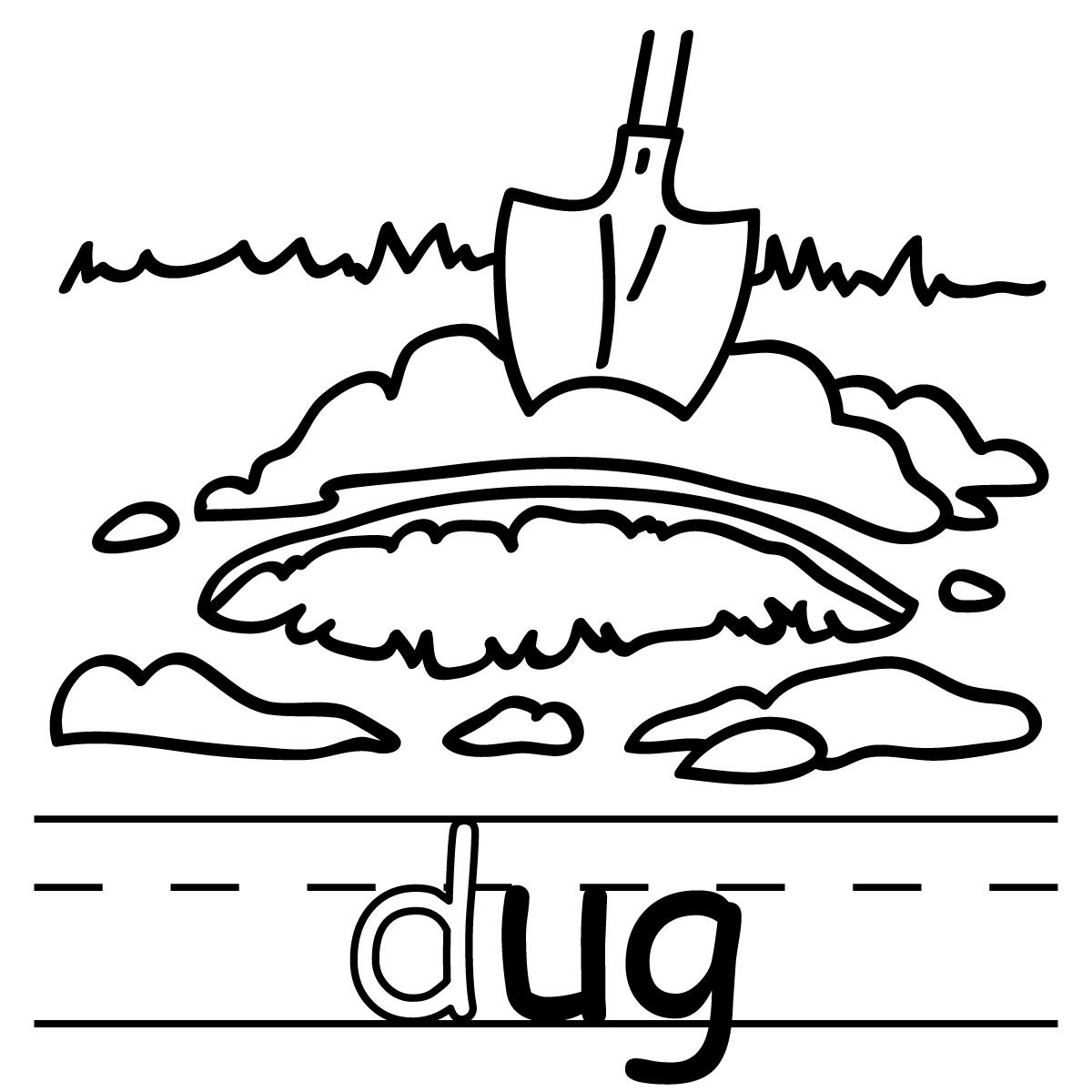 Dug Clipart