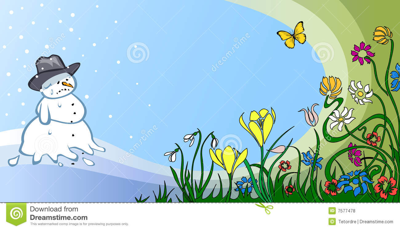 hight resolution of spring thaw stock illustrations