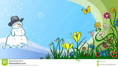 small resolution of spring thaw stock illustrations