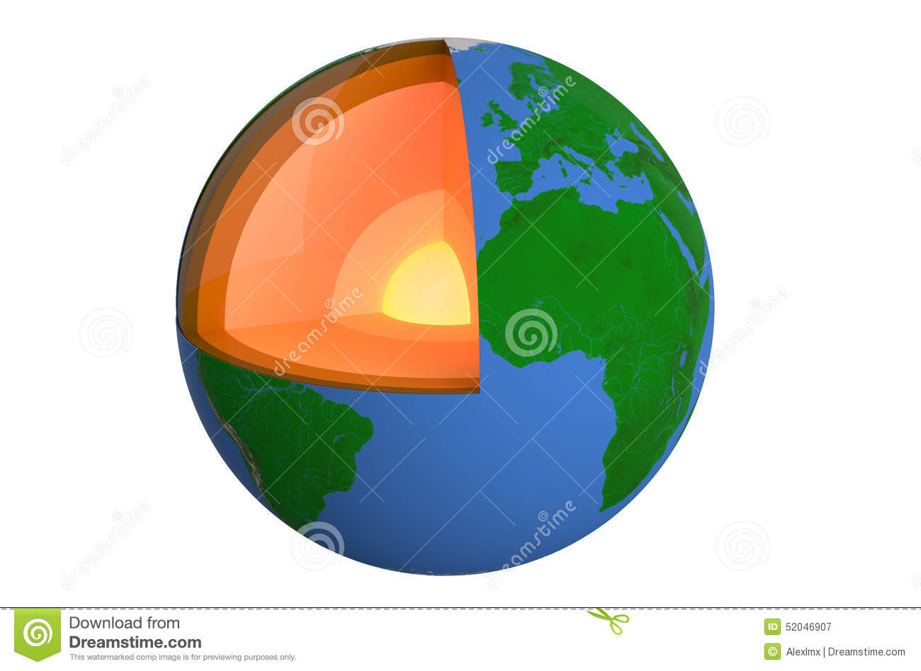 Earths Crust Clipart