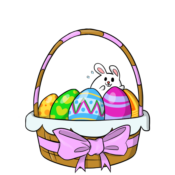 easter basket clipart - clipground