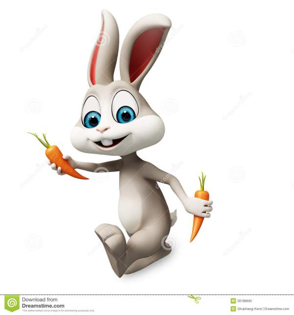 Easter Bunny Clipart Carrot 20 Free Cliparts