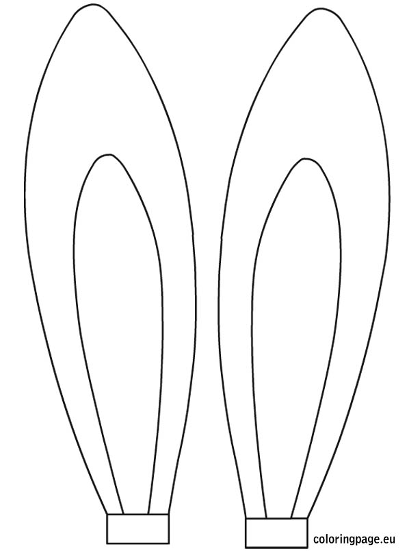 20 Easter Bunny Ears Clip Art Red Ideas And Designs