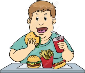 food clipart eat eating junk kid clipground