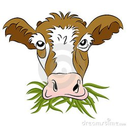 cow eating grass clipart fed illustrations clip dreamstime vectors clipground horse corn vector illustration gograph royalty blade graphics