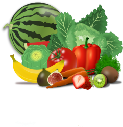 healthy clipart fruits vegetables clip eating eat poster posters fruit vegetable transparent foods sticker round snack fresh cliparts domain breakfast