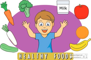 healthy eating clipart food foods clip child representative cliparts eat toddler head dinner plate students clipground breakfast library science diet