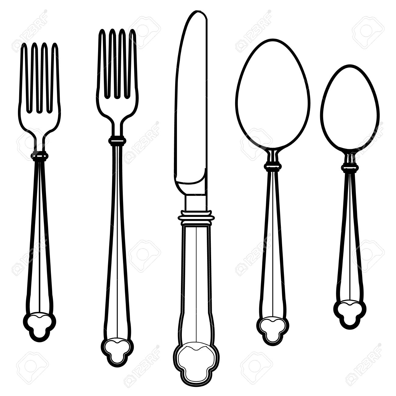 Eating Utensil Clipart