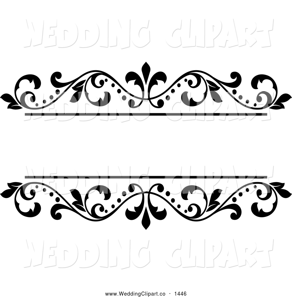 Free Wedding Clipart Borders